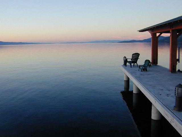 Bigfork Bay Flathead Valley Montana Killian
