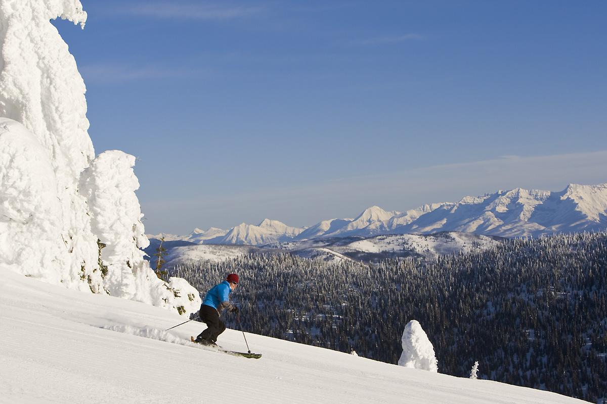 Ski Whitefish, Flathead Valley Montana, Chuck Haney