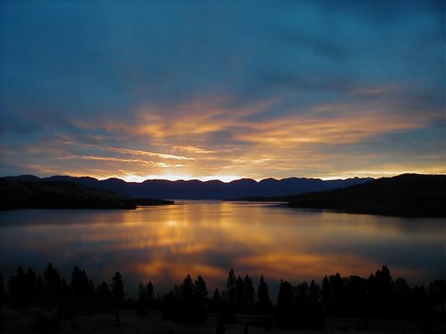 Bigfork Bay Flathead Valley Montana